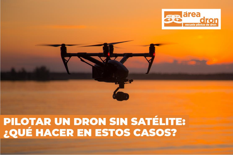 dron sin satélite
